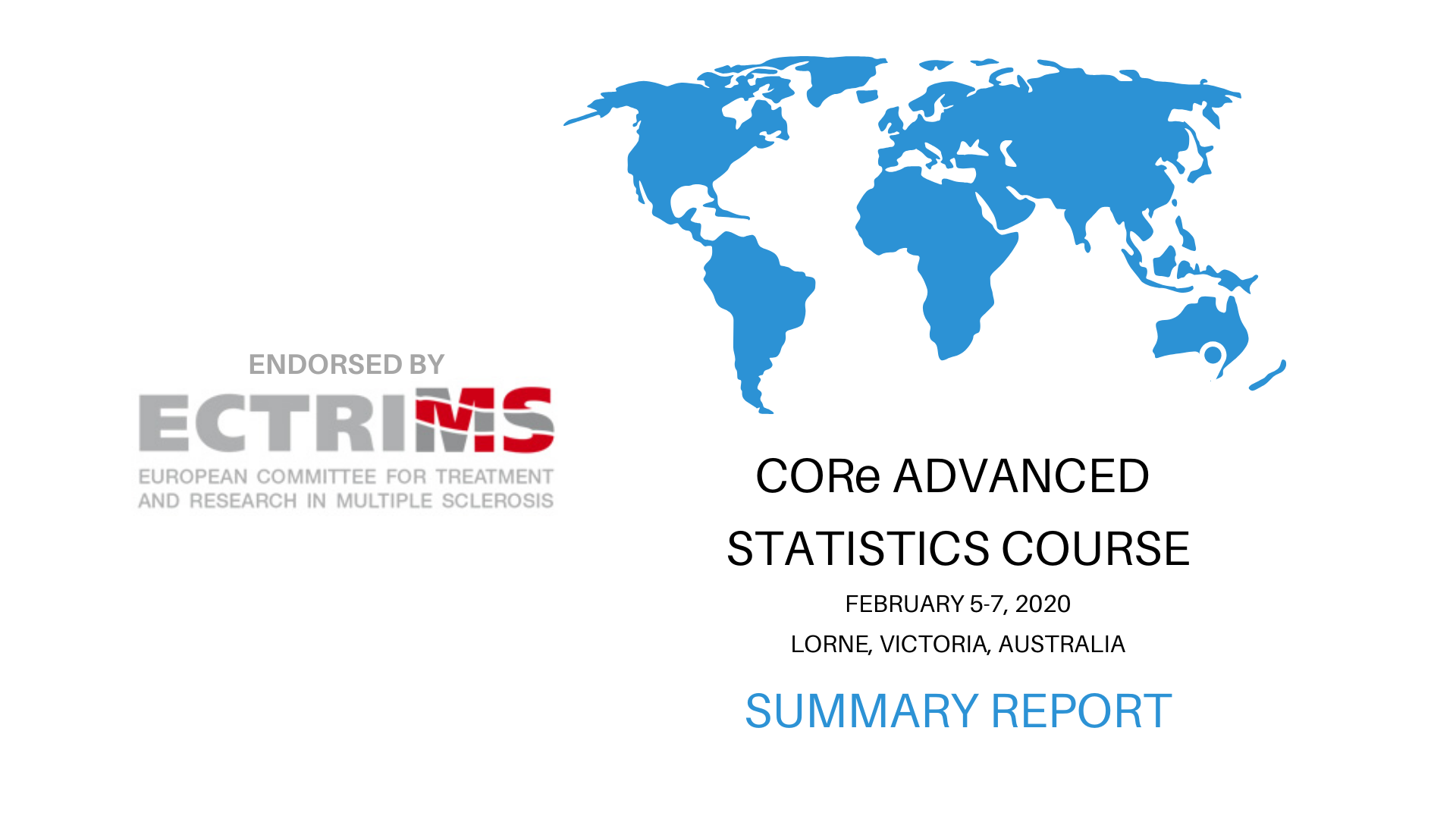 CORe Advanced Statistics Course