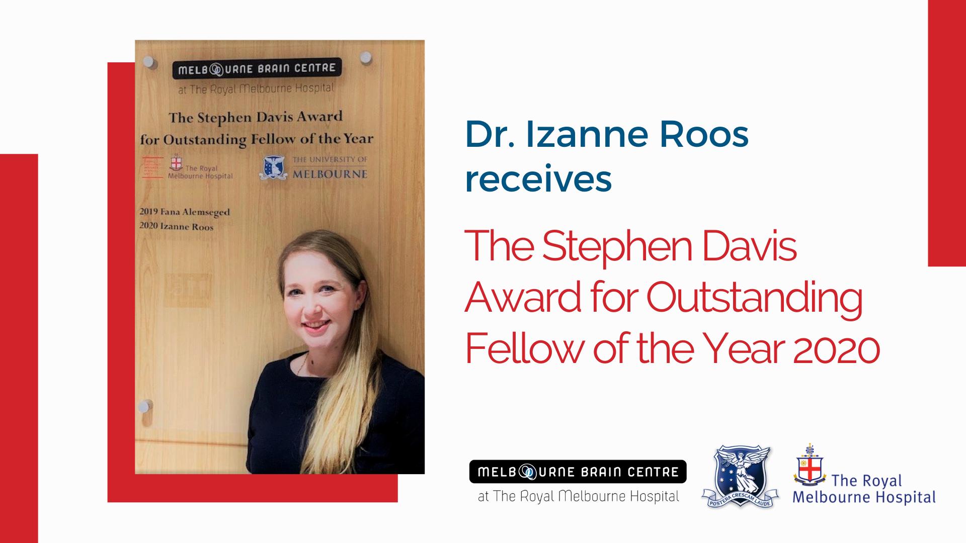Izanne Roos Award